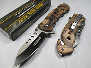Tac Force Assisted Opening Rescue Tactical Pocket Folding Stainless Steel Blade Knife Outdoor Surviv