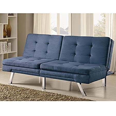 Coaster 300212 Home Furnishings Sofa Bed, Blue