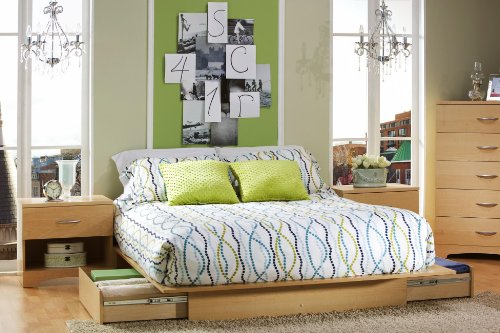 Queen Beds With Drawers 5361 front