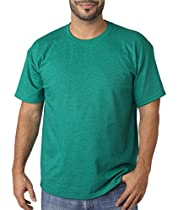 Gildan Ladies 5.3 oz. Heavy Cotton Missy Fit T-Shirt (G500L) -ANTIQ JADE -3XL