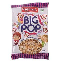 Rajdhani Corn - Big Pop, 100g Pack