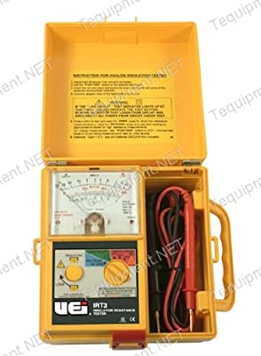 UEi Test Instruments IRT3 Analog Insulation Resistance Tester