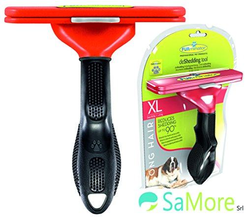 FURminator XL pettine spazzola cani di oltre 40kg pelo lungo superiore ai 5 cm