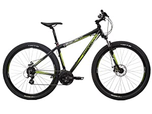 Diamondback Men's Descent Mountain Bike - Black and Green, 20 Inch (Old Version)