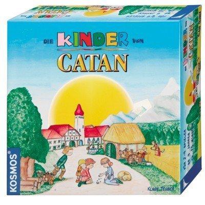 Die Kinder von Catan. Für 2 - 4 Spieler ab 4 Jahren