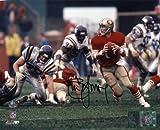 Steve Young Autographed San Francisco 49ers vs. Vikings 8×10 Photo TRISTAR