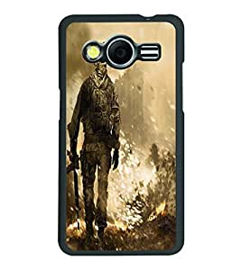 PRINTSWAG SOLDIER Designer Back Cover Case for SAMSUNG GALAXY CORE 2 G355H