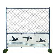 (2枚セット)デザインフェンス 鳥 1800*1800