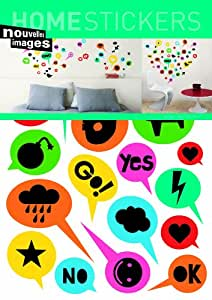 Home Stickers Nivet-Cool Decorative Wall Stickers