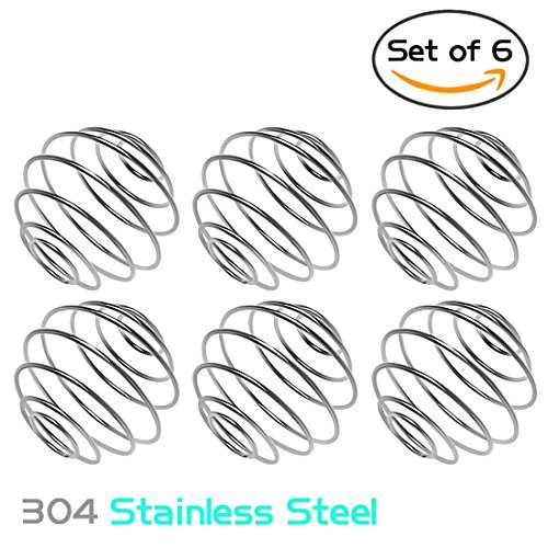 Nlife 6pcs Stainless Steel Blender Balls Replacement Wire Whisk for Shaker Cup Bottle Mixers (Gamma Shaker Cup compare prices)