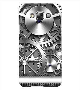 ColourCraft Machine Design Back Case Cover for SAMSUNG GALAXY GRAND 3