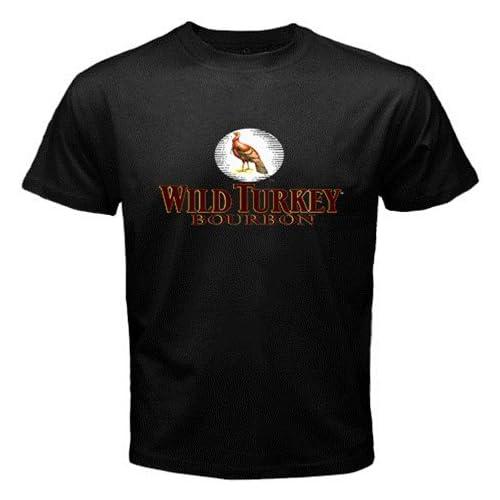 Amazon.com: WILD TURKEY BOURBON WHISKY Logo New Black T