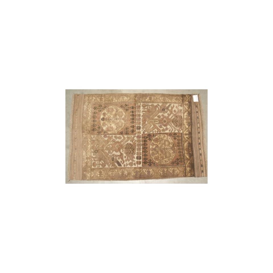 Hand woven Taimani Kilim Oriental Area Rug Afghanistan 510 x 310