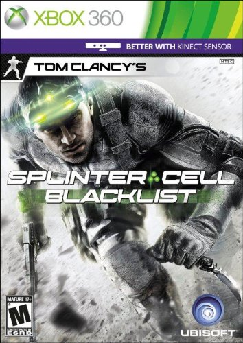 Tom Clancy's Splinter Cell Blacklist Special Edition - Xbox 360 471 540 irregular cell battery