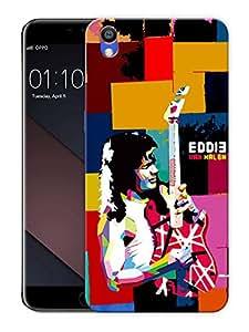 "Eddie Van HalenPrinted Designer Mobile Back Cover For ""Oppo F1 PLUS"" (3D, Matte, Premium Quality Snap On Case)"