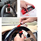 ECellStreet Multi-functional Mobile Phone Holder / Mount / Clip / Buckle Socket Hands Free On Car Steering Wheel...