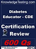 img - for Diabetes Educator - CDE Certification Review (Knowledge Testing) book / textbook / text book