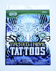 Amazon.com: R Ideas Temporary Tattos, Tattoo Mania, Tribal: Toys