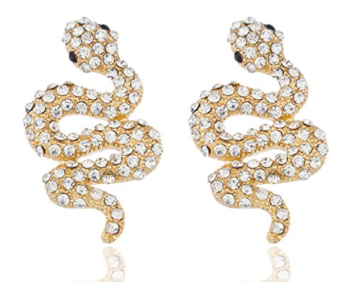 Snake Style Stud Earrings
