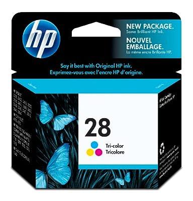 HP 28 Tri-color Original Ink Cartridge (C8728AN)
