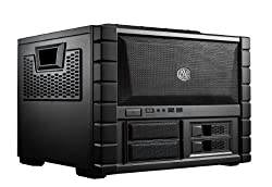 Cooler Master HAF XB - LAN Box and Test Bench Mid Tower Computer Case with ATX Motherboard Support (RC-902XB-KKN1)