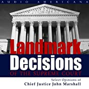 Landmark Decisions of the Supreme Court: Select Opinions of Chief Justice John Marshall | [United States Supreme Court]