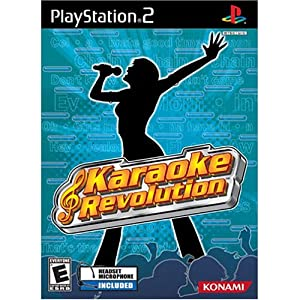 Karaoke Revolution with Headset - PlayStation 2
