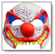 Classic Clown Half Mask