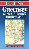 echange, troc Cartes Collin's - Carte touristique : Guernesey Sark Alderney (en anglais)
