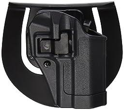 BLACKHAWK! Serpa CQC Right Hand Sportster Holster (Gunmetal Gray, Size 25)