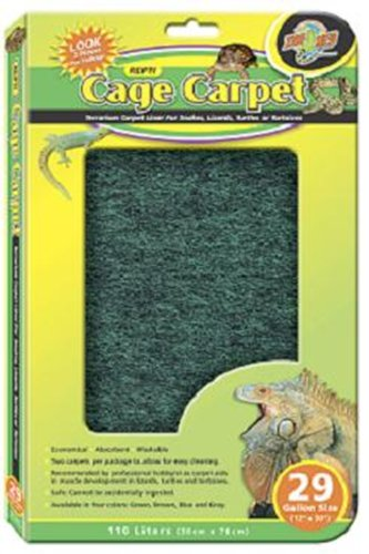 Zoo Med Reptile Cage Carpet for 15-Inch Long
