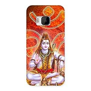 Premium Shiv Omkara Multicolor Back Case Cover for HTC One M9