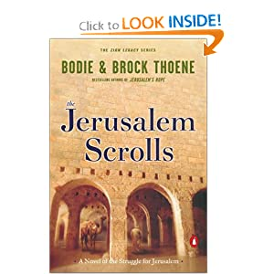 """The Jerusalem Scrolls"" by Brock & Bodie Thoene :Book Review"
