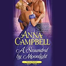 A Scoundrel by Moonlight (       UNABRIDGED) by Anna Campbell Narrated by Steve West