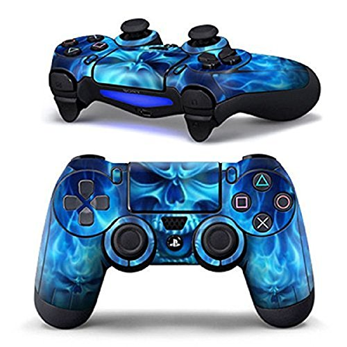 dotbuy-ps4-controlador-disenador-piel-para-sony-playstation-4-mando-inalambrico-dualshock-x-1-blue-f