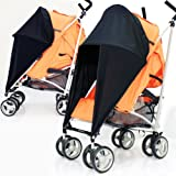NEW SUNNY SAIL STROLLER PUSHCHAIR BUGGY SHADE TO FIT O'BABY BETTER THAN FLIMSY PARASOLS THAT LET YOU DOWN AND BREAK EVERY TIME PARASOL