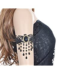 Lace Armlet Black From Cinderella Collection By Shining Diva For Women 7383b
