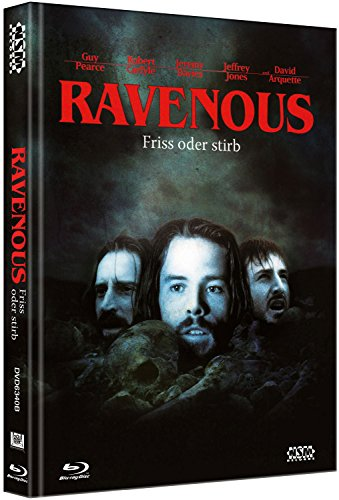 Ravenous - Friß oder stirb - uncut (Blu-Ray+DVD) auf 333 limitiertes Mediabook [Limited Collector's Edition]