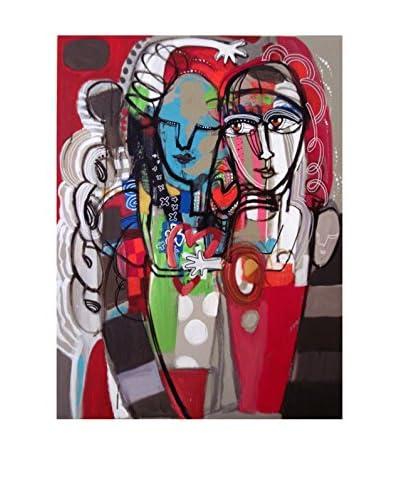 """Frederic Pissarro """"Takes Two To Tango"""" Canvas Giclée Print"""