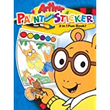 Arthur Two in One Book - Sticker/Pww