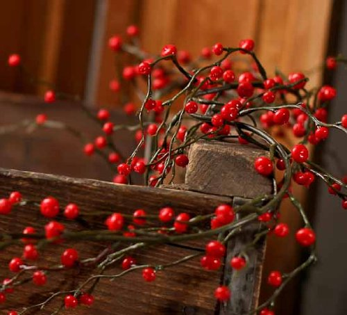 Decorative Artificial Vinyl Garland With Tiny Red Berries. Room String Lights. Vase Decoration Ideas. White Leather Dining Room Chairs. Boho Chic Living Room Ideas. Media Room Chairs. Decorative Statues. European Decor. Mens Home Decor