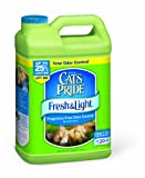 Cats Pride Fresh and Light Premium Fragrance Free Scoopable Cat Litter Jug, 15-Pound