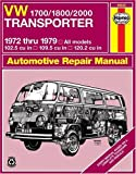 img - for VW Transporter 1700, 1800 and 2000, 1972-1979 (Haynes Repair Manuals) by J. H. Haynes (2005-12-01) book / textbook / text book