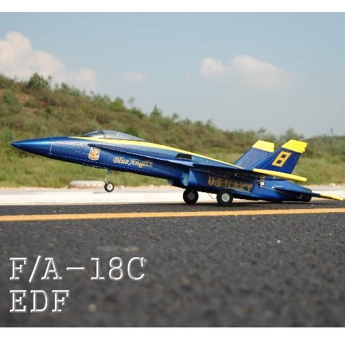 F18 JET ~ Brushless Electric ~ F/A - 18C EDF JET ~ Raidio Control ~ by Redcat Racing