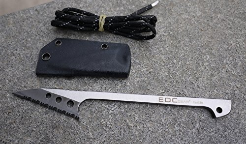 EDC Outdoor Full Serrated Edge Blade Knife Fishing Harpoon Flake Survival Tool