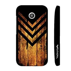 Motorola Moto E 1st Gen Woody Chevy designer mobile hard shell case by Enthopia