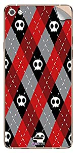GsmKart MCS5 Mobile Skin for Micromax Canvas Silver 5 (Red, Canvas Silver 5-885)