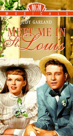 Meet Me in St Louis [VHS] [Import] Judy Garland Margaret O'Brien Mary Astor Lucille Bremer Leon Ames MGM (Video & DVD)