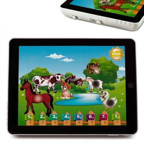 Jeu éducatif enfants - Ordinateur d'apprentissage en 4 langues - Tablette