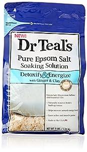 Dr. Teal's Salt, Detox, 3 Pound